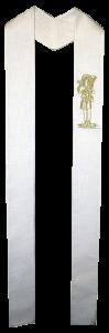 Stola mit den Motiven des guten Hirten bestickt. In allen liturg. Farben erhältlich! Art.-Nr. 053-13