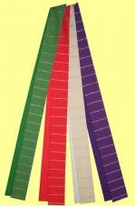 handgewebte Stola mit feinen Lurexstreifen. Material 55% Trevira / 45% Schurwolle. Art.-Nr. 053-4