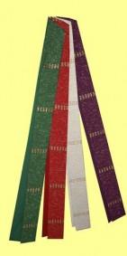 Stola mit Lurexeinwebungen. Material 55% Trevira / 45% Schurwolle. Art.-Nr. 053-7
