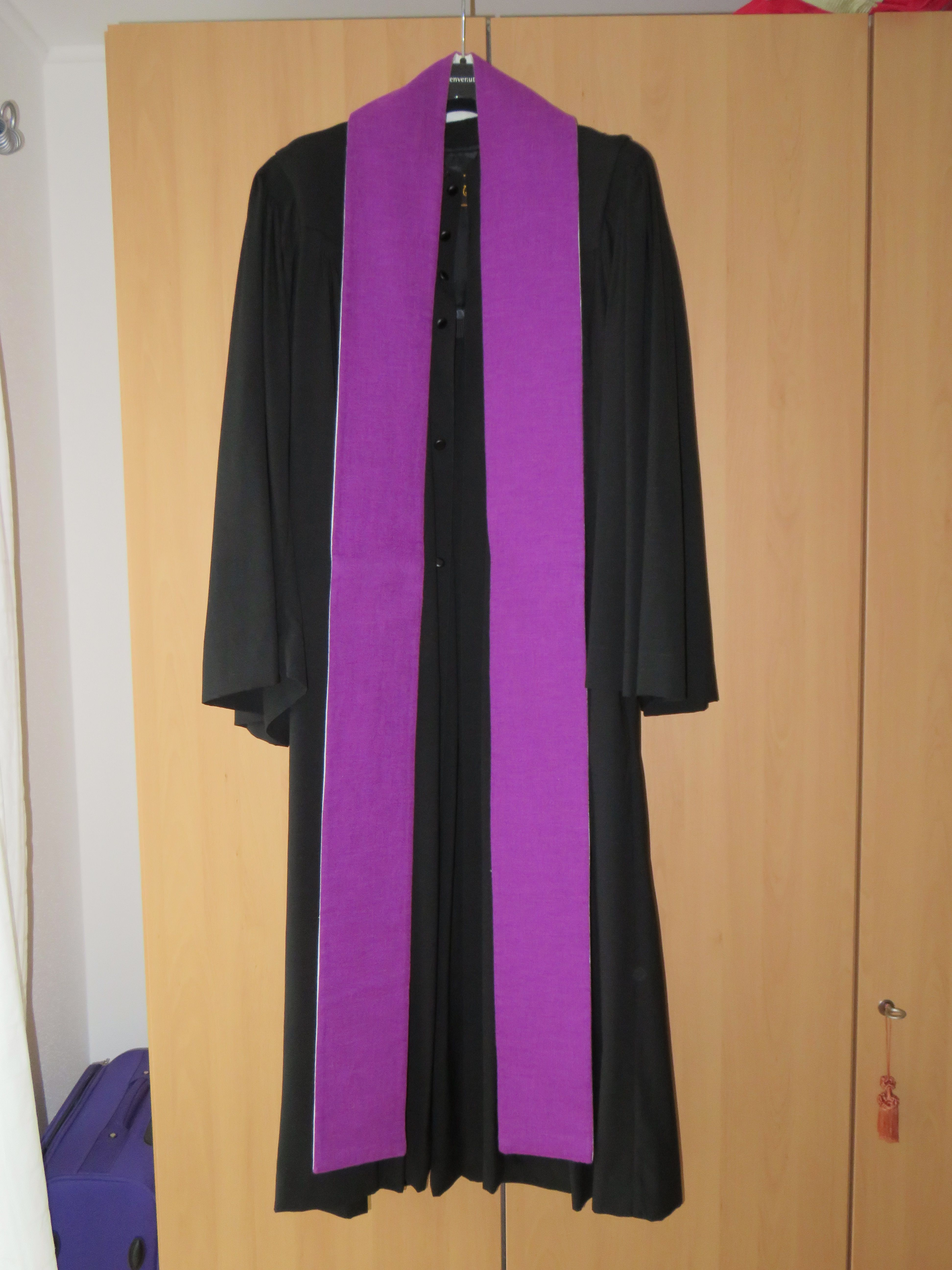 IMG_1155 Talar mit Stola violett