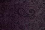 Futter 16, dunkelviolett, paisley